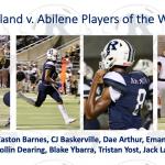 Varsity Football beats Abilene 35 – 34