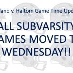 Richland v. Haltom Subvarsity Update