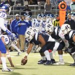Varsity Football beats Weatherford 65 – 62