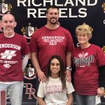 Richland Tennis and Cross Country Celebrate College Signee