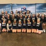 Rebel Cheer Finishes in Top 10 at UIL Spirit State Championships