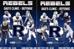 Rebel Football Dad's Clinics