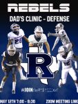 Rebel Football Dad's Clinic: Zoom Address