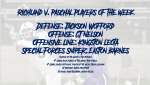 Richland v. Paschal Players of the Week