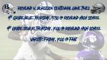 Richland v. Burleson Centennial Game Times