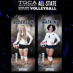 Richland Volleyball Academic All-State Selections