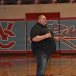 Rulon Gardner visits Weld Central March 2018