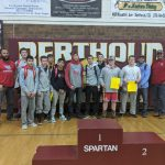 Boys Varsity Wrestling finishes 1st place at Tournament @ Berthoud High School
