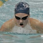 Fairmont Men's and Women's swim team placed 2nd at the Butler Invite