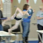 Sectional results for Swimming