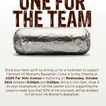 Chipotle Fundraiser for FHS Girls Basketball!