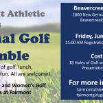 Fairmont Annual Golf Scramble