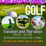 Summer Girls Golf
