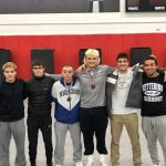 SNODGRASS 3RD AND CROWE 4TH AT STATE WRESTLING!