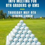 Girls Golf Info Meeting for Kettering Middle School