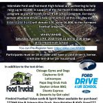 Fairmont Football Ford Test Drive & Band Donation Day 8/17!