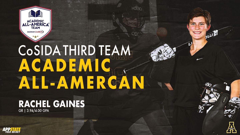 Former Firebird Rachel Gaines Makes History as Academic All-American