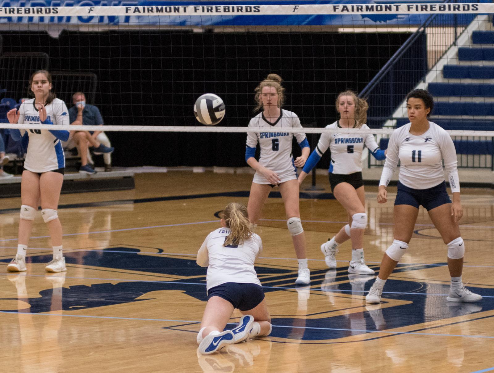 Fairmont Women's JV and Varsity Volleyball vs Springboro 8-25-2020