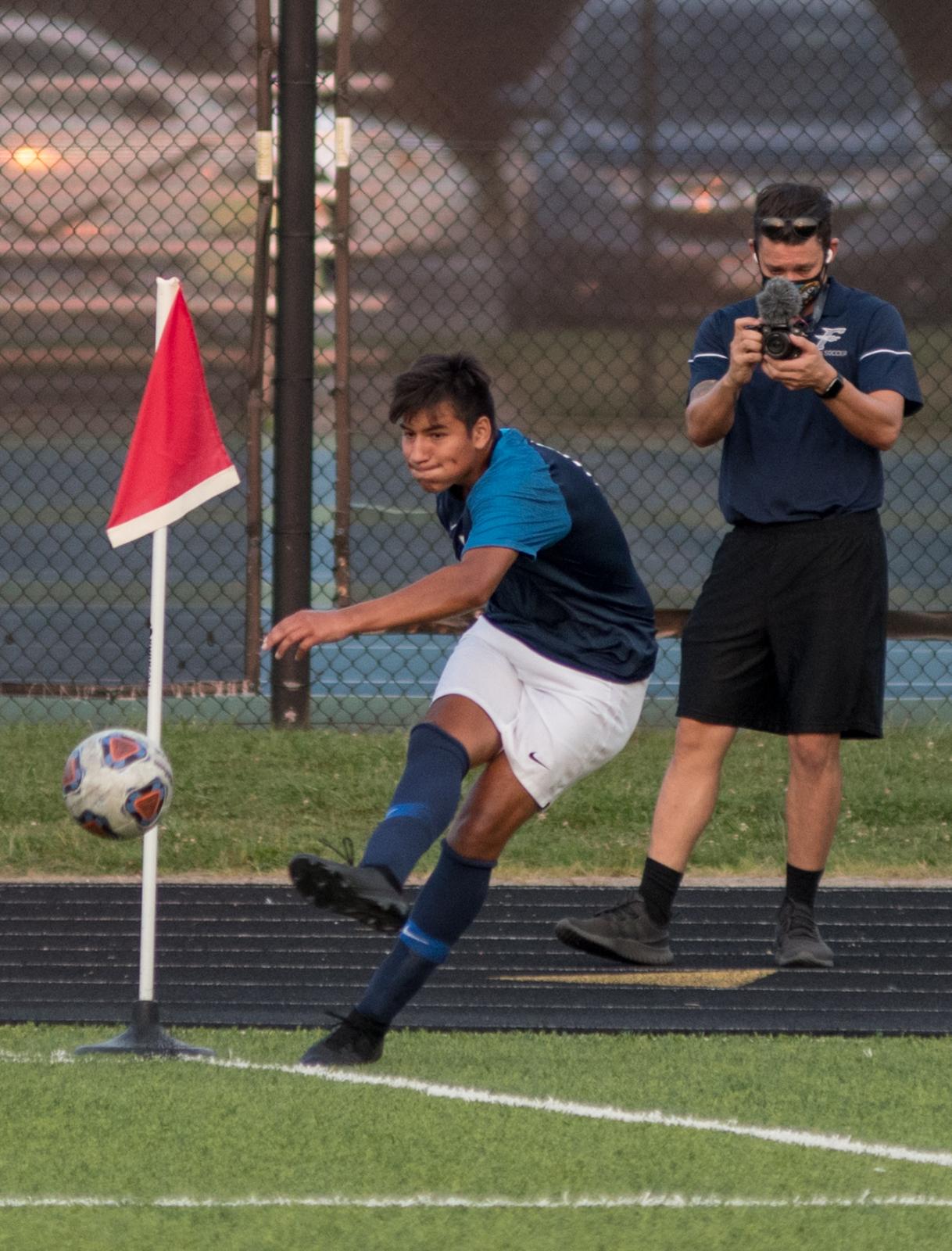 Photo Highlights from Fairmont Men's Varsity Soccer vs. Northmont 8-25-2020