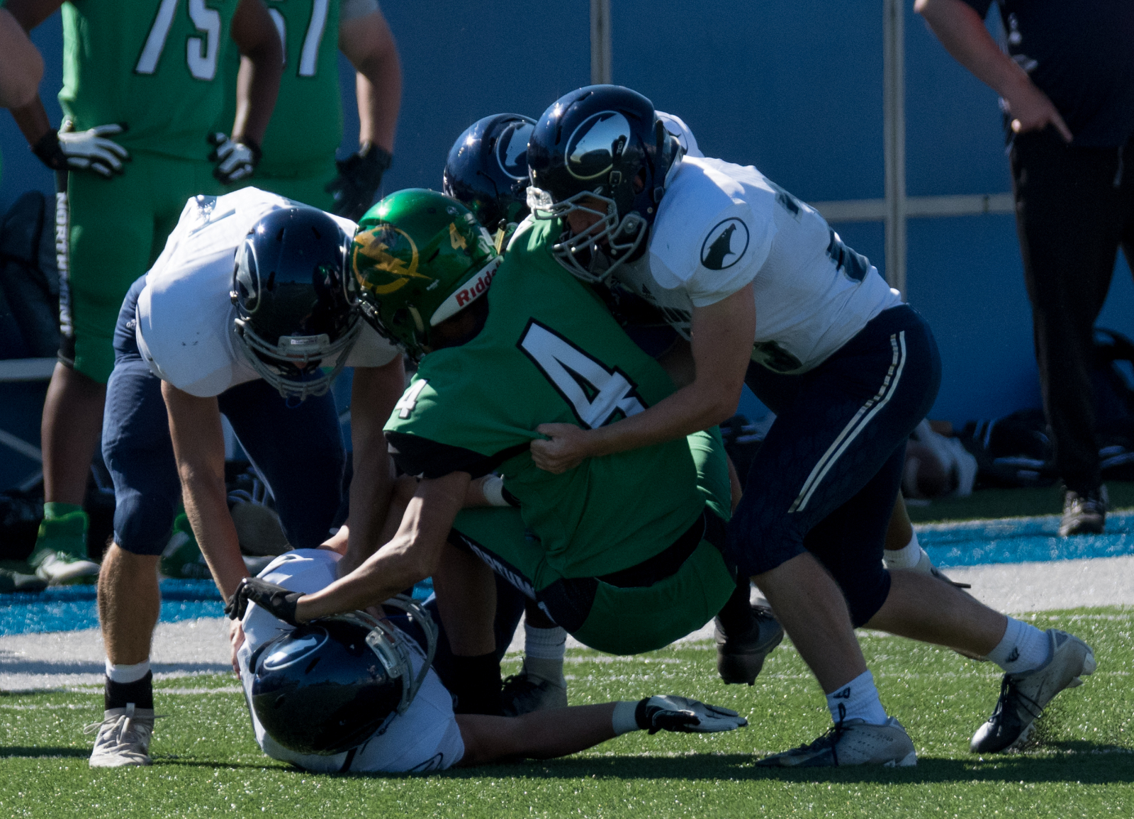 Photo Highlights from Fairmont JV and Freshman Football vs Northmont 9-5-2020