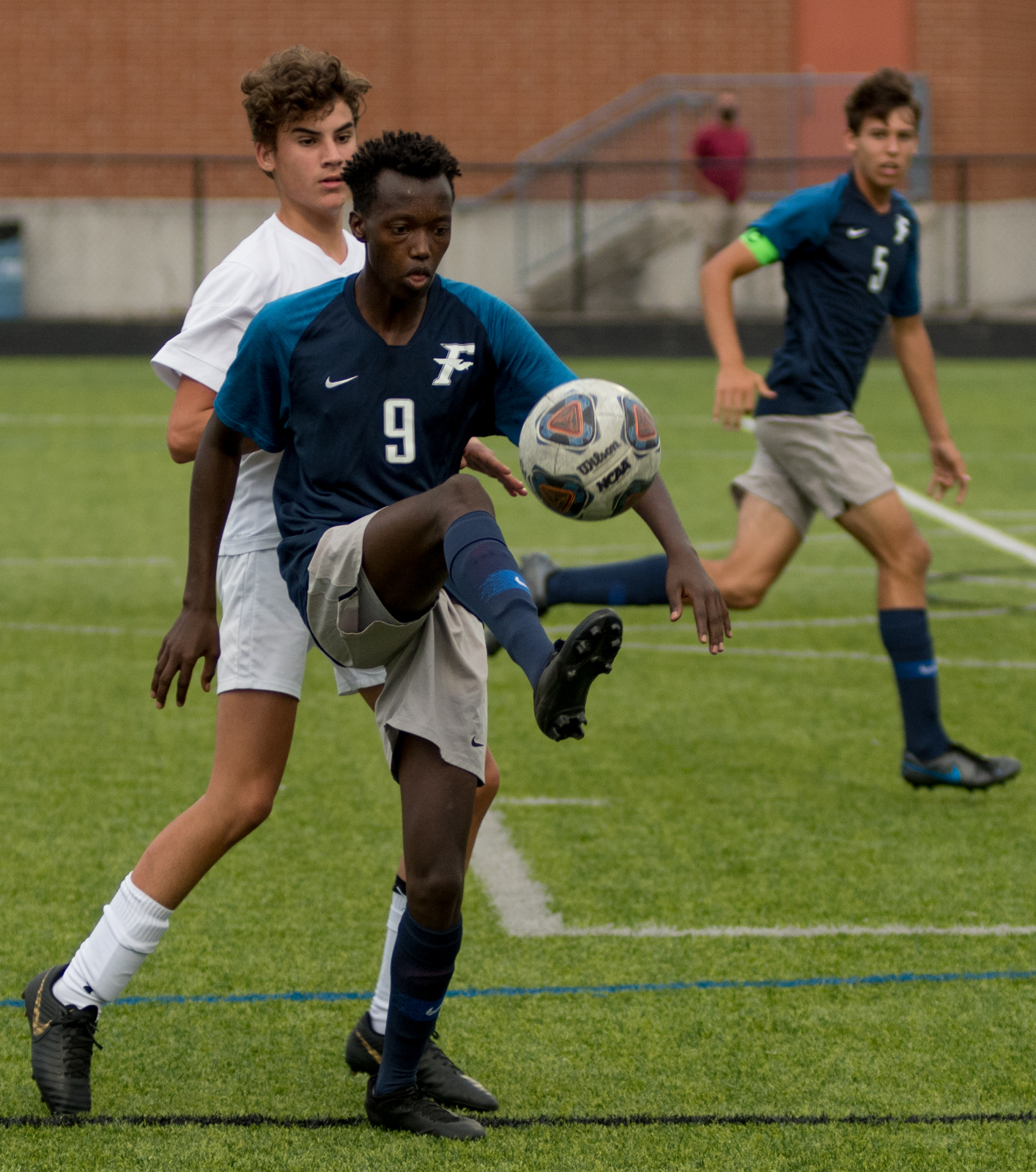 Photo Highlights from Fairmont Men's Varsity Soccer vs. Springfield 9-1-2020