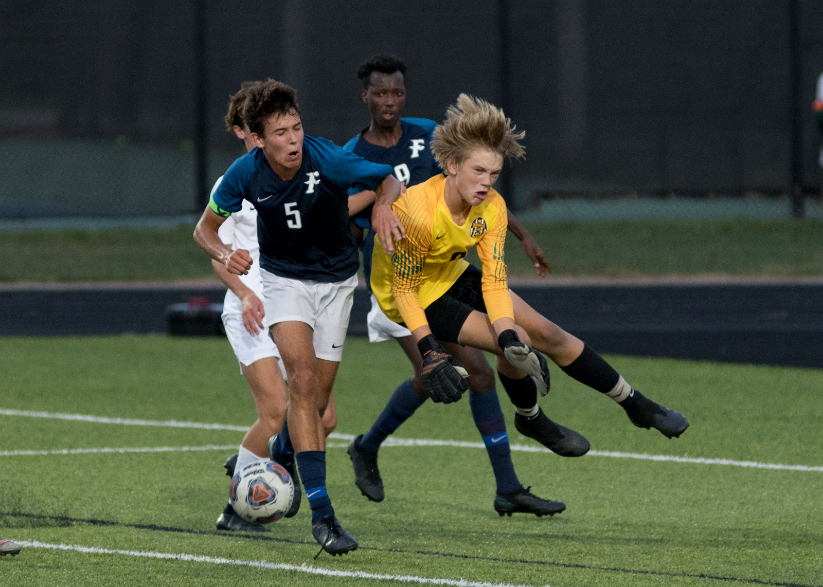 Photo Highlights from Fairmont Men's Varsity Soccer vs Centerville 9-8-2020