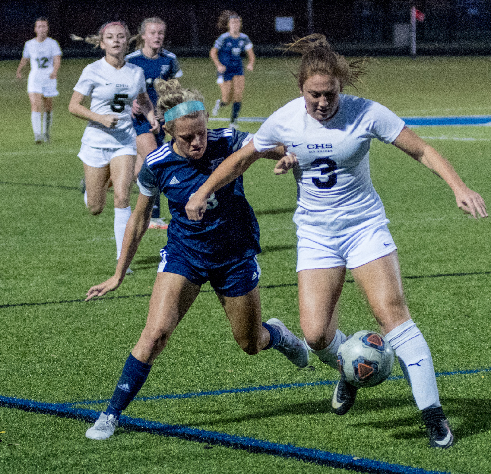 Picture highlights from Fairmont Women's Varsity Soccer vs Centerville 9-30-2020