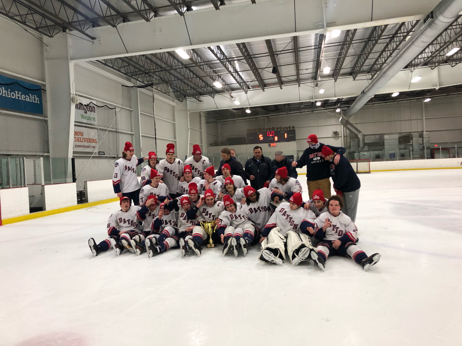 Fairmont Students Win State Club Hockey Title with Dayton Stealth