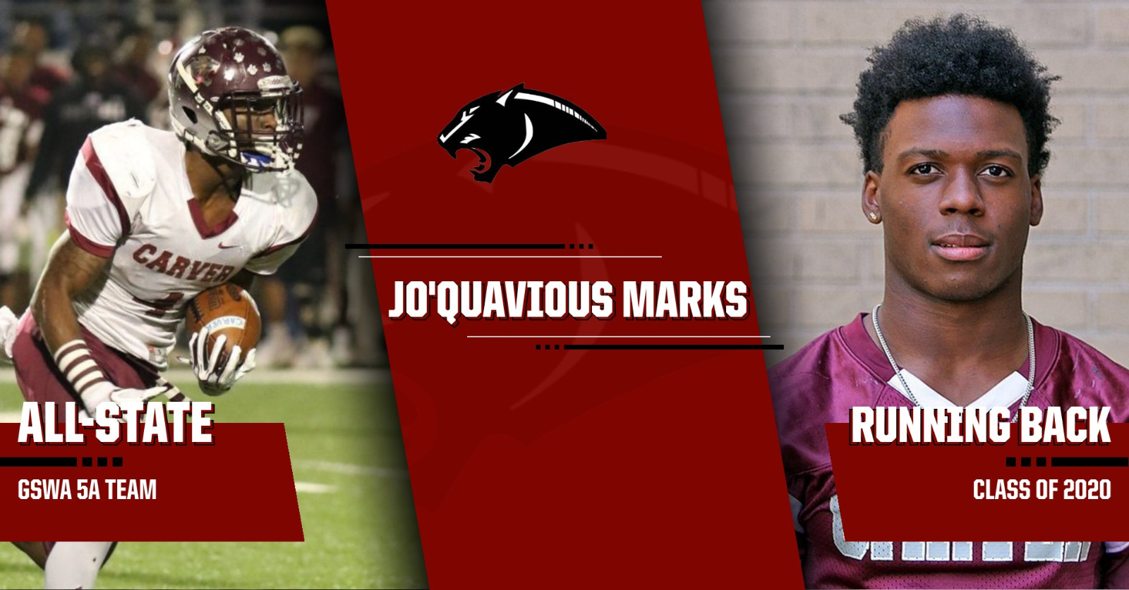 GSWA Honors Jo'Quavious Marks