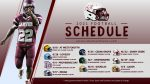 2021 Football Schedule Released