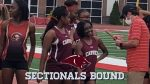 Girls 4×100 Advance to Sectionals