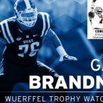 Brandner Named to Wuerffel Trophy Watch List