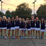Girls Junior Varsity Tennis falls to Wilson Hall 4 – 5