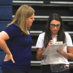Girls Junior Varsity Volleyball falls to Wilson Hall 2 – 0