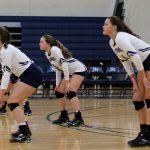 Girls Varsity Volleyball falls to Wilson Hall 3 – 1