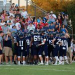Varsity Football nearly completes comeback at Laurence Manning, 19 – 40
