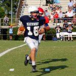 B-Team Football falls to Ben Lippen School