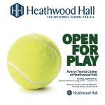 Averyt Tennis Center – Ribbon Cutting (9/25)