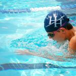 Boys Swimming competes at First Baptist Time Trials in Charleston, SC