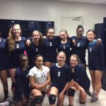 JV Volleyball collects their first win, defeating Hammond 2-0