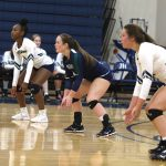Girls Varsity Volleyball beats Ben Lippen School 3 – 0