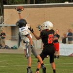 Boys Junior Varsity Football beats Cardinal Newman School 50 – 34