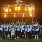 JV Football Claims Region Championship over Hammond in 2OT, 42-40