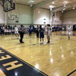 Girls Middle School Basketball beats East Point Academy 32 – 9