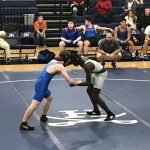 Varsity Wrestling goes 2-1 on Opening Night at home
