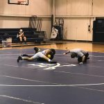 Varsity Wrestling Sweeps Home Tri-Match