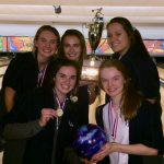 Girls' Bowling Team State Champs – Boys Finish 2nd