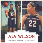 HH Alum A'ja Wilson ('14) Named USA Today National Player of the Year
