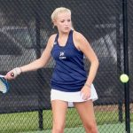 Girls Varsity Tennis falls to Wilson Hall 6 – 3