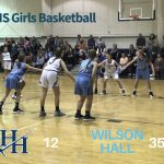 Girls Middle School Basketball falls to Wilson Hall, 35-12